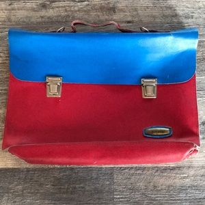 Vintage Jerome Leather school bag